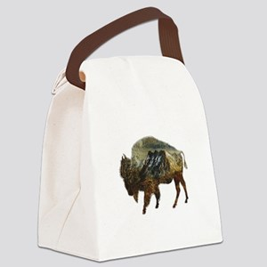 PURELY STRONG Canvas Lunch Bag