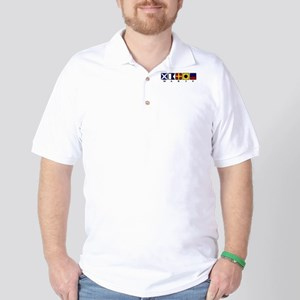 Nautical Marie Golf Shirt