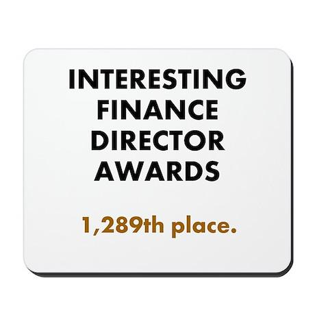 Finance Director Joke Mousepad