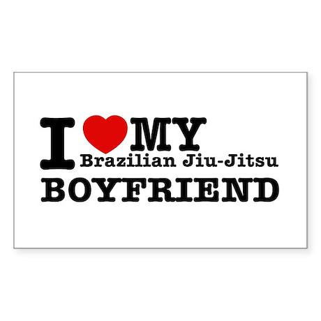 Brazilian Jiu-Jitsu designs Sticker (Rectangle)