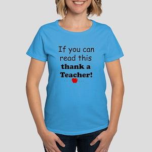 Thank a teacher Women's Dark T-Shirt