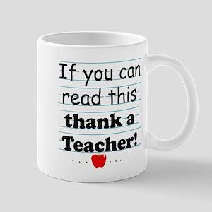 Thank a teacher Mug