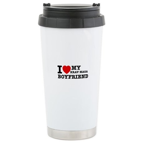 Krav Maga designs Stainless Steel Travel Mug