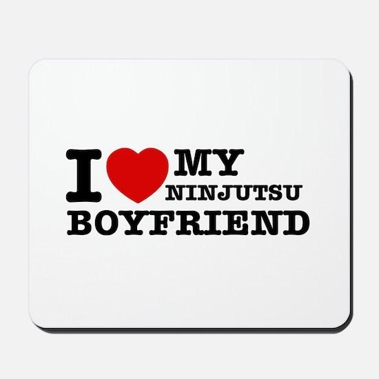 Ninjutsu designs Mousepad