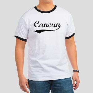 Vintage Cancun Ringer T