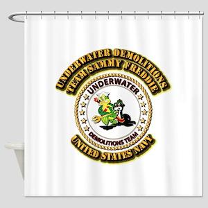 US Navy - Emblem - UDT - Sammy - Freddie Shower Cu