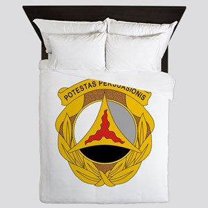 10th Psychological Operations Queen Duvet