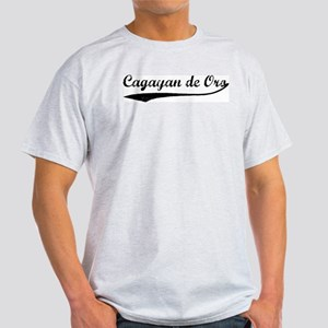 Vintage Cagayan de Oro Ash Grey T-Shirt