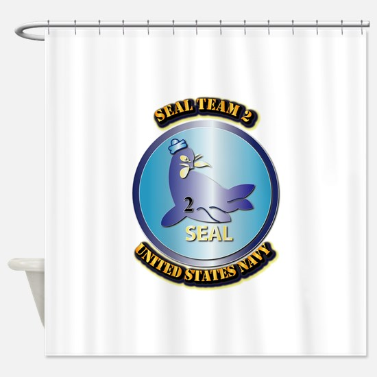 SSI - US Navy - Seal Team 2 Shower Curtain