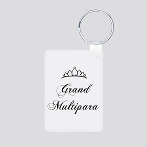 Grand Multipara Aluminum Photo Keychain