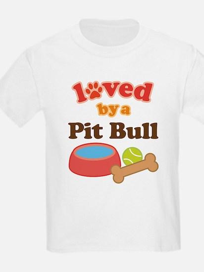 Pit Bull Dog Gift T-Shirt