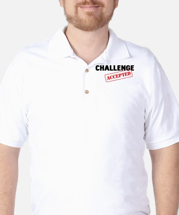Challenge Accepted Golf Shirt