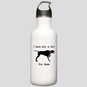 Pointer Personalizable I Bark For A Cure Stainless