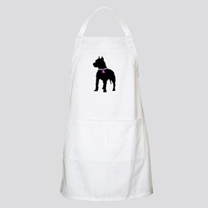 Pitbull Terrier Breast Cancer Apron