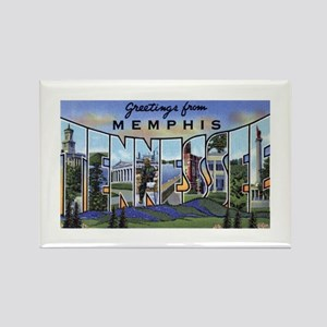 Memphis Tennessee Greetings Rectangle Magnet