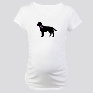 Labrador Retriever Breast Can Maternity T-Shirt