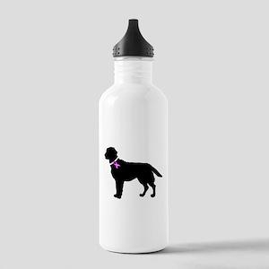 Labrador Retriever Breast Can Stainless Water Bott