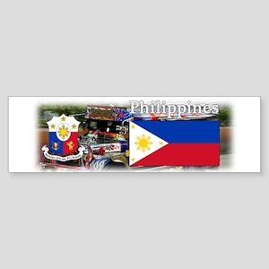 Philippines Sticker (Bumper)