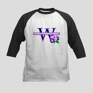 University of Whatev.png Kids Baseball Jersey