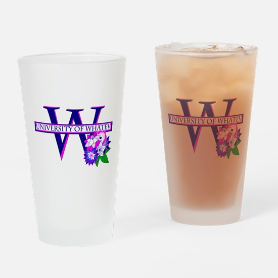 University of Whatev.png Drinking Glass