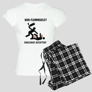 Non-Flammable Women's Light Pajamas