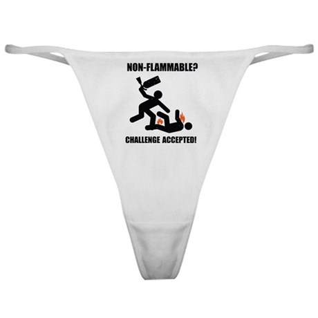 Non-Flammable Classic Thong