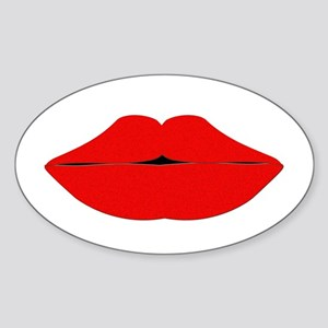lips Sticker (Oval)