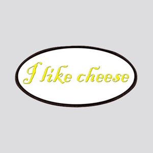 I like cheese Patches