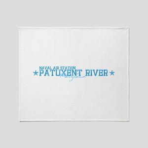 NASpaxriver Throw Blanket