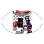 Torco Race Fuels Sticker (Oval 50 pk)