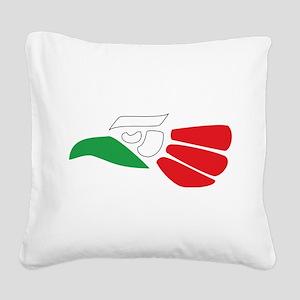 HECHO EN MEXICO Square Canvas Pillow