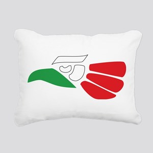 HECHO EN MEXICO Rectangular Canvas Pillow