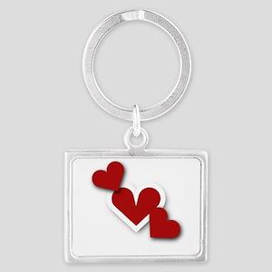 Hearts Keychains