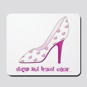 Stomp Out Breast Cancer Mousepad