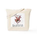 Merry Christmas To All Tote Bag