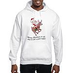 Merry Christmas To All Hooded Sweatshirt