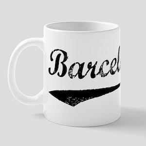 Vintage Barcelona Mug