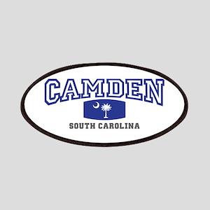 Camden South Carolina, SC, Palmetto State Flag Pat