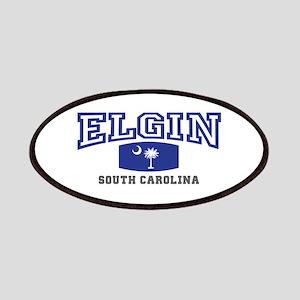 Elgin South Carolina, SC, Palmetto State Flag Patc