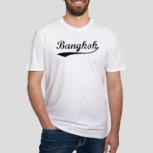 Vintage Bangkok Fitted T-Shirt