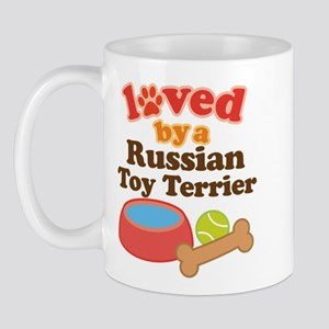 Russian Toy Terrier Dog Gift Mug