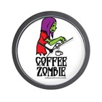 Coffee Zombie 2.0 Wall Clock