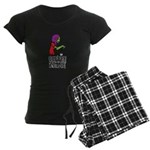 Coffee Zombie 2.0 Women's Dark Pajamas