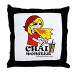 Chai Monster Throw Pillow