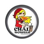 Chai Monster Wall Clock