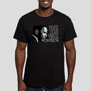 obama_over_division_grey T-Shirt