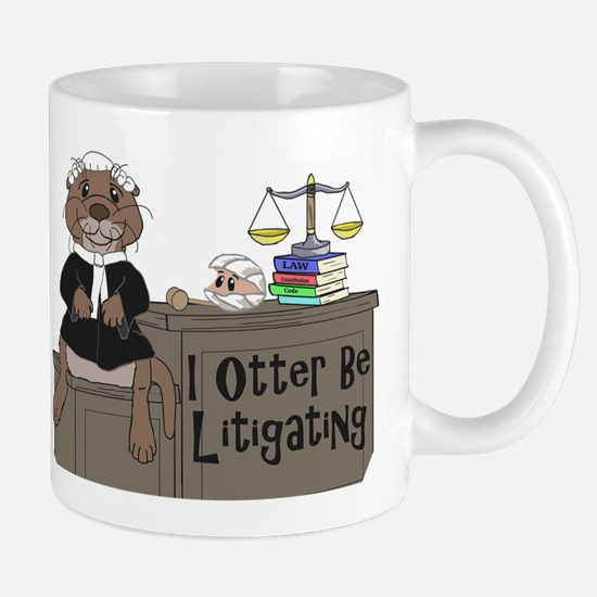 Unique Litigator Mug