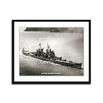 USS LOS ANGELES Framed Panel Print