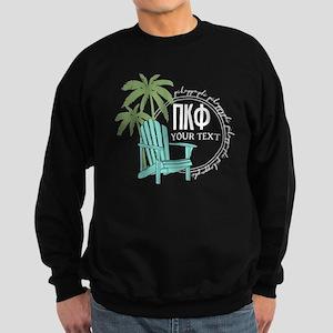 Pi Kappa Phi Palm Chair Personal Sweatshirt (dark)
