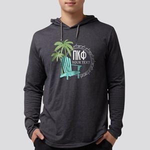 Pi Kappa Phi Palm Chair Personal Mens Hooded Shirt